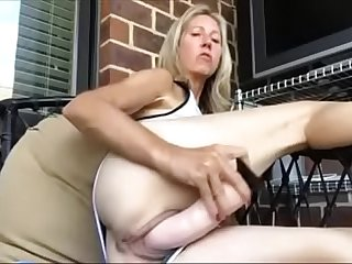 Freckled nude public sex